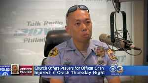 Church Holds Mass In Honor Of Philadelphia Officer Critically Injured In Motorcycle Accident [Video]