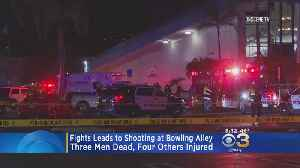 3 Men Dead, 4 Hurt After Fight Leads To Shooting At California Bowling Alley [Video]