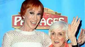 Kathy Griffin' Reveals Her Mom, Maggie, Has Dementia [Video]