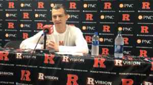 Terps' Turgeon talks after defeating Rutgers [Video]