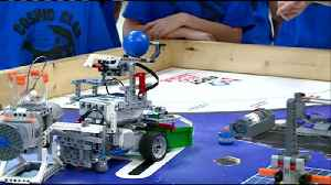 Local fifth grade robotics team moves on to sectional competition [Video]