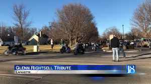 Glenn Rightsell laid to rest with motorcycle tribute [Video]