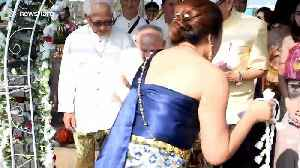 100-year-old man marries 96-year-old bride in Thailand [Video]
