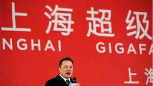 Tesla's Musk Breaks Ground At China Gigafactory [Video]