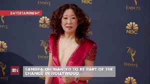 Sandra Oh Talks About The Meaning Of Her Hosting The Golden Globes [Video]
