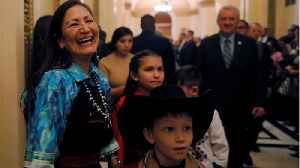 Deb Haaland Is One Of The First Two Native American Congresswomen [Video]