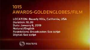 Golden Globe Awards Attracts 18.6 million TVVviewers [Video]