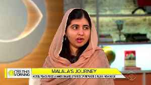 Malala Yousafzai Says Trump's Border Wall 'Does Not Reflect The Values Of America' [Video]