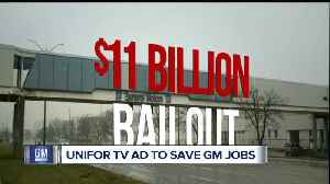 General Motors targeted by Canadian campaign with new TV ad trying to save 3,000 jobs [Video]