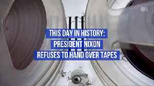 Remembering President Nixon Tapes: This Day In History [Video]