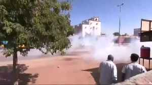 Protesters dispersed with tear gas as they march in Sudan [Video]