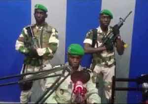 Soldiers Seize Gabon's National Radio Station to Announce Coup to 'Save Democracy' [Video]