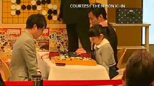 Japanese girl set to be the world's youngest Go player [Video]