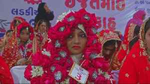 Mass wedding for orphan girls held in India [Video]