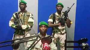 Gabon soldiers seize national radio station in coup attempt [Video]
