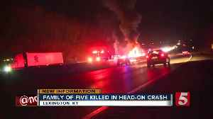 Family of 5 killed in wrong-way crash in Kentucky [Video]