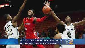 St. John's Back in AP Top 25 For First Time Since 2014-15 [Video]