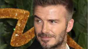 David Beckham Rocks Eyeshadow For New Magazine Cover [Video]