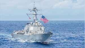 US Navy Destroyer In Disputed Chinese Waters Sends Sharp Message To China [Video]