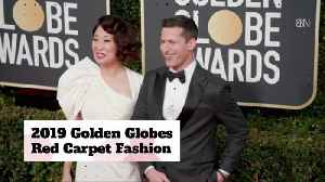 The Golden Globe Awards Red Carpet Fashions [Video]