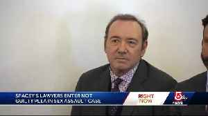 Kevin Spacey pleads not guilty in sex assault case [Video]