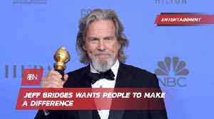 Jeff Bridges Gives A Strong Golden Globes Message About Boats [Video]