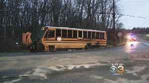Multiple Students Injured In South Jersey School Bus Crash [Video]