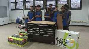 Camden High School Gearing Up For Robotics Competition [Video]