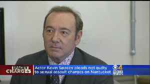 Actor Kevin Spacey Pleads Not Guilty To Sex Assault Charges [Video]