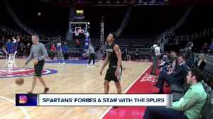 Bryn Forbes thriving with Spurs [Video]