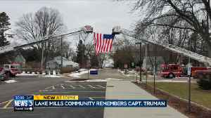 'Gone too soon': Lake Mills firefighters, friends and family honor Capt. Truman during funeral [Video]