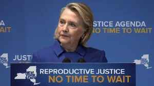 Hillary Clinton, N.Y. Gov. Andrew Cuomo discuss abortion rights [Video]