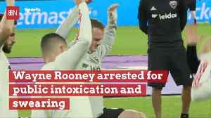 Wayne Rooney Gets Crazy And Also Arrested [Video]