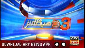Headlines ARYNews 1500 8th January 2019 [Video]
