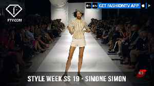 Style Week Spring Summer 2019 - Simone Simon | FashionTV | FTV [Video]
