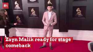 Is Zayn Malik Making A Stage Comeback [Video]