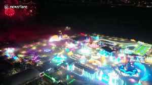 World-famous Ice and Snow Festival kicks off in north Chinese city [Video]
