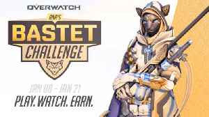 Overwatch - Ana's Bastet Challenge Trailer [Video]