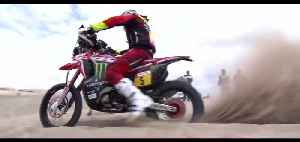 Monster Energy Honda Team Dakar 2019 Stage 1 [Video]