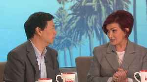 The Talk - Ken Jeong on Oscar Hosting; Says 'I would cater it, I would do cue cards' [Video]