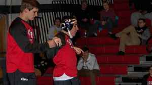 High school wrestler with cerebral palsy and autism inspires with match [Video]