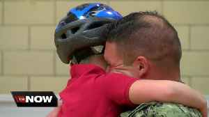 Milwaukee Navy father reunites with son after 20 months deployed [Video]