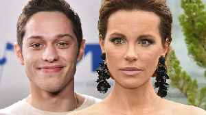 Pete Davidson CAUGHT Leaving Golden Globes After Party With Kate Beckinsale! [Video]