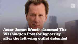 James Woods Expertly Uses Washington Post's Own Anti-Trump Tweet Against Them [Video]