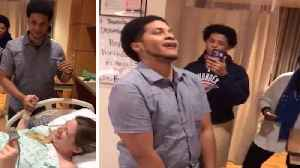 Pregnancy performance! Expectant parents create incredible 'push it' song remix with family while waiting to give  [Video]