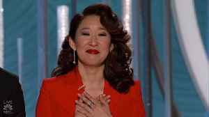 Sandra Oh Stole the Golden Globes with These Heartwarming Moments [Video]