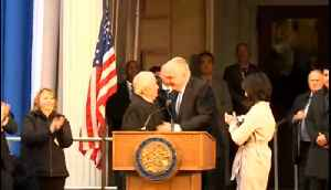 Gov.-elect Steve Sisolak sworn into office [Video]
