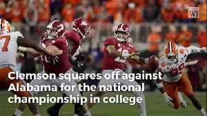 ESPN Analyst Says Fans Are Jealous, Not Bored, of Alabama-Clemson Sequels [Video]