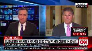 Manchin says Elizabeth Warren would have a tough time in West Virginia [Video]