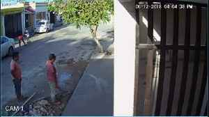 Boy Slips and Ruins Wet Concrete [Video]
